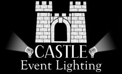 Castle Event Lighting